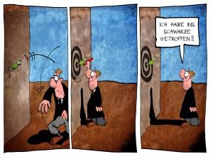 Karikatur: Kostas Koufogiorgos - Vielen Dank für die Unterstützung